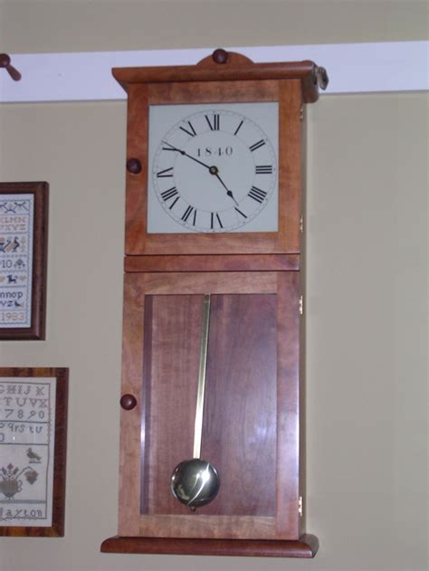 wall clock plans woodworking 17 best images about shaker wall clock on