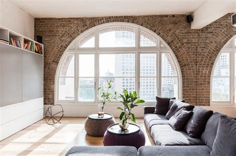 Arched Windows Pictures Converted Warehouse Apartment In Sydney Celebrates Its