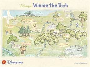100 acre wood map quotes