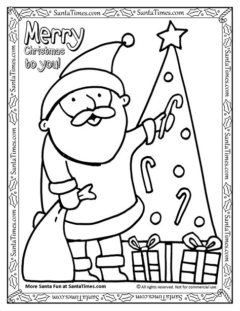 christmas wish list coloring pages