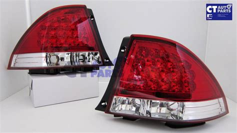 lexus is300 tail lights jdm clear red led tail lights for 99 05 lexus is200 is300