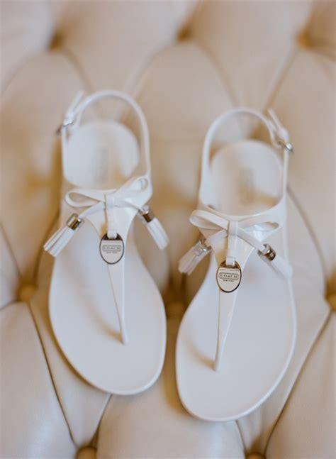 white wedding sandals flat flat white coach wedding sandals elizabeth designs