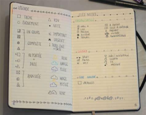 layout for journal intime 17 meilleures id 233 es 224 propos de bullet journal key sur