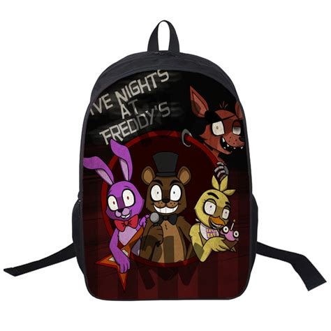 One A Handbags Freddy Ma by Anime Five Nights At At Freddy Backpack For Teenagers