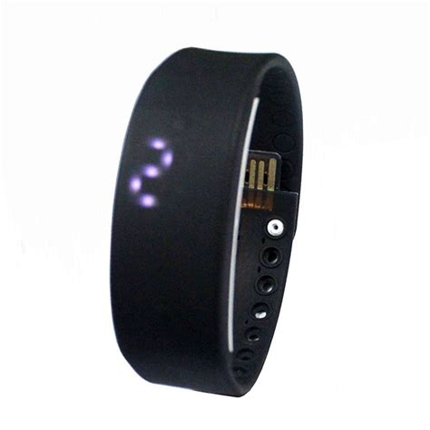 W2 Multi fonction USB LED 3D Smart Wrist Band Watch Health Monitor