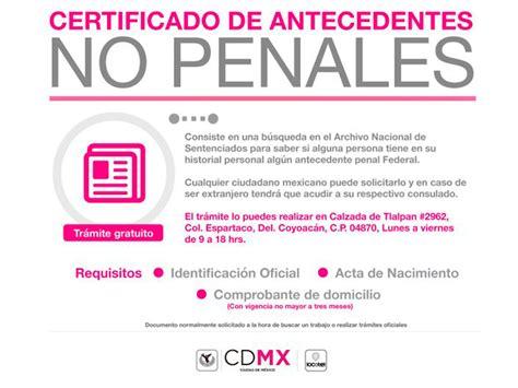 pgj agiliza trmite de carta de antecedentes no penales c 243 mo tramitar la carta de antecedentes no penales en cdmx