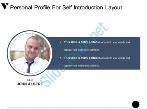 Personal Profile For Self Introduction Layout Presentation Powerpoint Powerpoint Presentation Personal Introduction Powerpoint Template