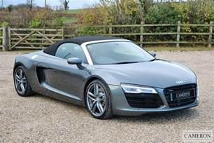 Finance Audi R8 Used Audi R8 Spyder V8 Quattro 2014 Cameron Sports Cars