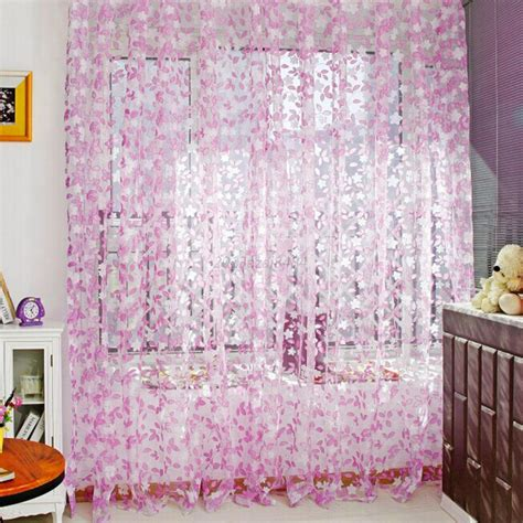 colorful sheer curtains colorful room door divider panel drapes valance assorted