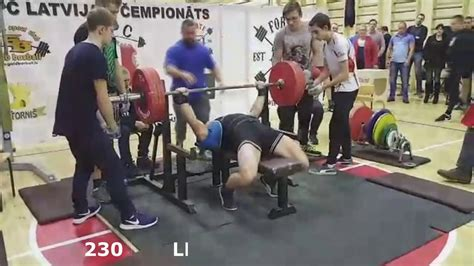 210 bench press vyacheslav letlyan bench press 210 220 230 kg 82 5