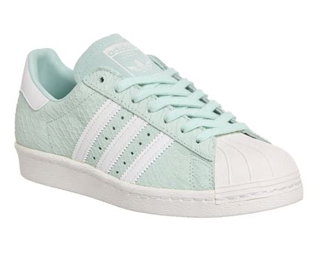 Adidas Superstars adidas superstar 80 s green white exclusives