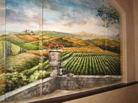 landscape wall mural tuscan landscape wall mural murals landscapes