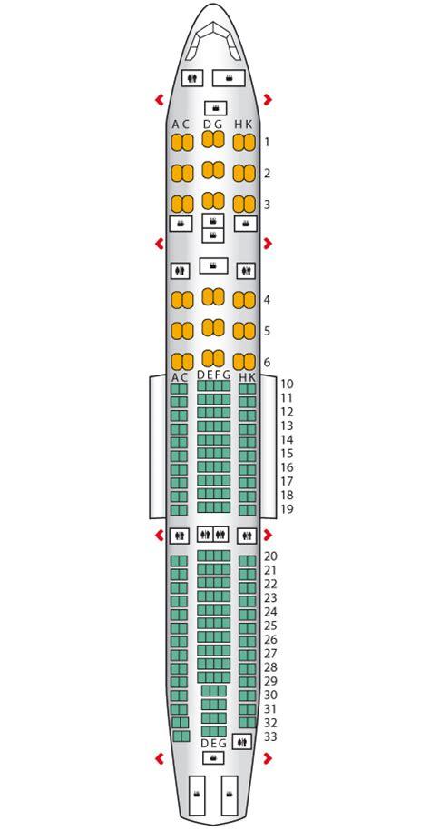 layout seat garuda executive business airbus a330 200 garuda indonesia