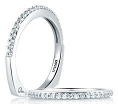 Wedding Bands In Maryland by Zachary S Jewelers A Jaffe Classic Pave