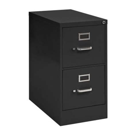 sandusky 2 drawer vertical file cabinet in black