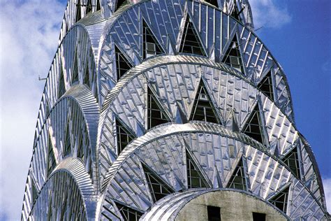chrysler building architecture chrysler building detail of the stainless steel roof new