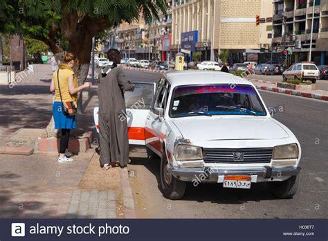 peugeot egypt aswan egypt february 5 2016 people entering old