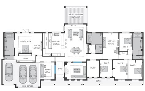 Farmhouse Floor Plans Australia | bronte floorplans mcdonald jones homes