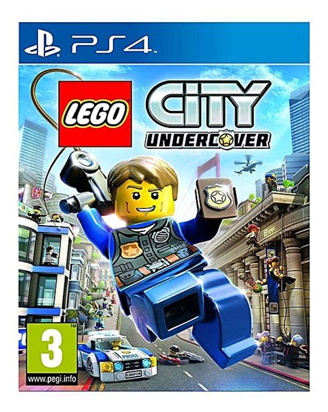 Kaset Ps4 Lego City Undercover lego city undercover ps4 marisota