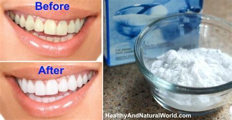 natural methods  teeth whitening