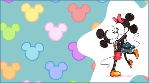 wallpaper iphone mickey mickey and minnie wallpapers wallpaper cave