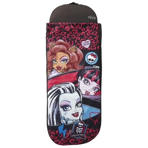 monster high bed in a bag monster high tween ready bed sleepover new sleeping bag ebay