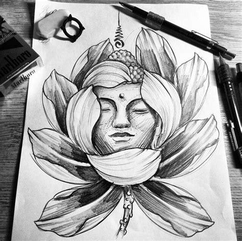 buddha face tattoo legian buddha in a lotus цветы pinterest buddha lotus and
