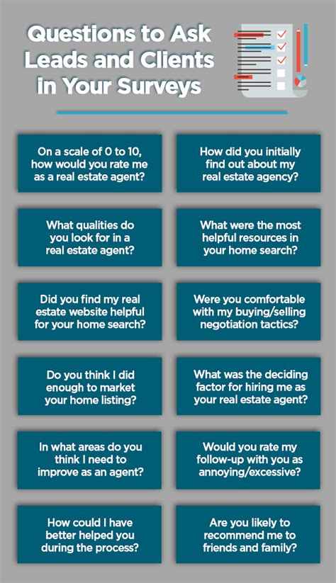 survey tools for real estate agents