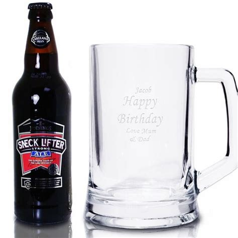 personalised tankard and traditional ale gift set fmag