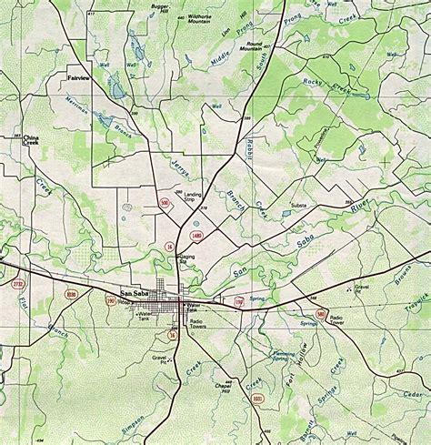 san saba texas map texas city maps perry casta 241 eda map collection ut library