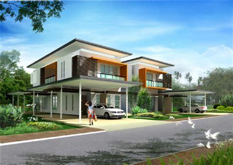 double storey detached house design grace hill phase 2 housing project