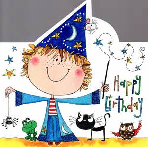 card genie birthday cards wizard boy