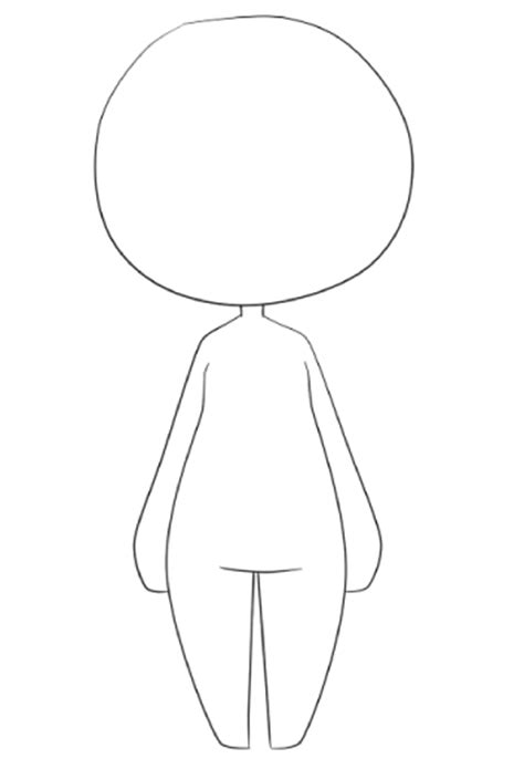 chibi outline pictures to pin on pinterest pinsdaddy