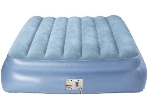 raised aero bed queen size inflatable aerobed