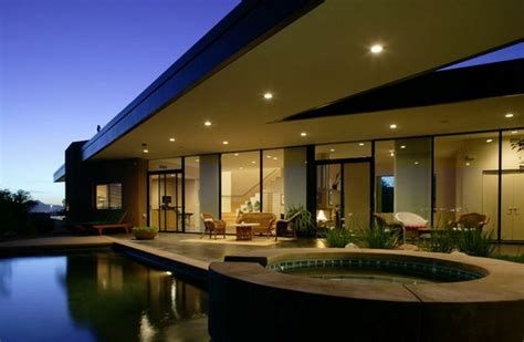 High Definition Modern Oasis Riverfront Residence In Architectural Design Tucson