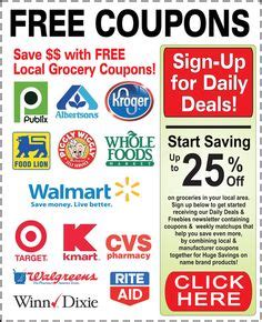 printable food city coupons coupons tips and organization on pinterest