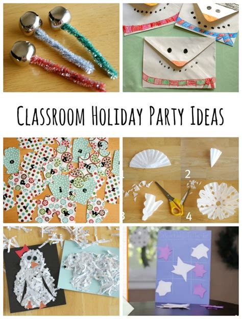 Craft Ideas For Holidays - classroom holiday party ideas make and takes