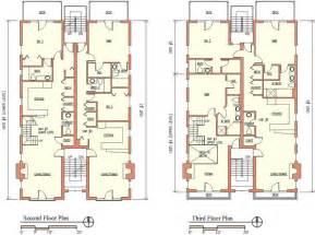 Modern Apartment Building Plans amazing triplex house plans #2: 0a41f-06 | anelti