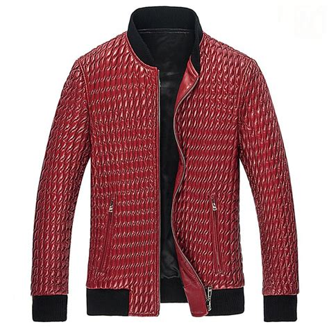 Mens Quilted Leather Jacket by Quilted Leather Jacket Mens Cw850010