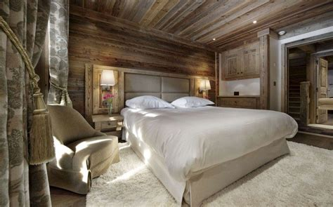 Kopfteil Paneel by Chalet Luxe Les Gentianes 1850 224 Courchevel