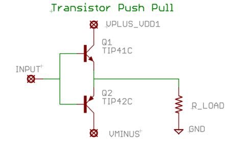 transistor power lifier built up motor driver opencircuits