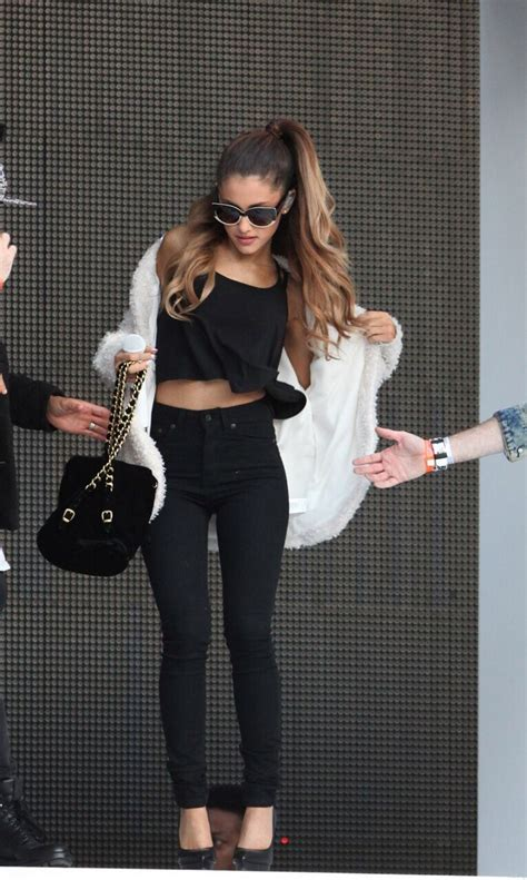 what is ariana grandes style ariana grande clothes black will always be black