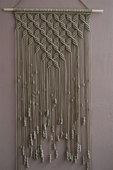 macrame anleitung zuhause dekorative makramee wandbehang b01ms6xx92 diy