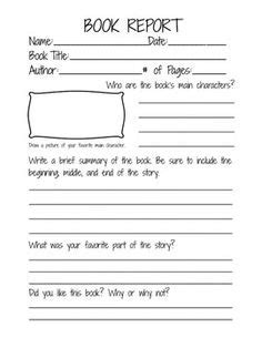 3rd grade book report writing reports template for writing lab