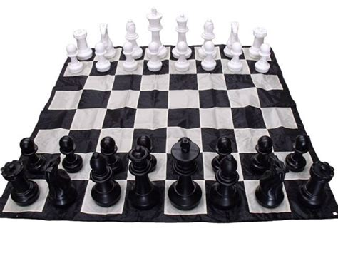 Chess Mats And Pieces by Outdoor Chess Board Made From Pvc 280cm Square