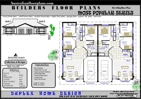 unit floor plans designs duplex design units house floor plans real estate plan 2 x