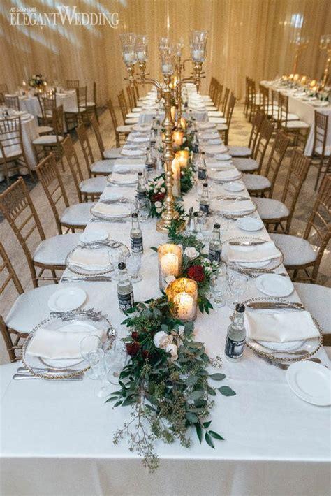 classic gold burgundy wedding theme elegantwedding ca