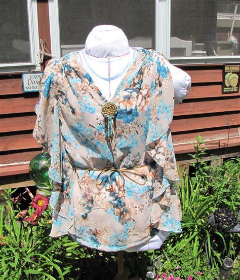 blouse jumbo original flounced ruffled blouse sewing projects burdastyle