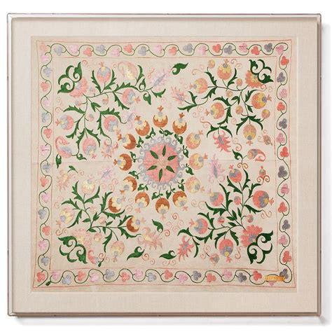 uzbek vintage suzani handmade embroidery sew et al pinterest 17 best images about beach villa ideas on pinterest st