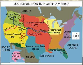 map of the united states during westward expansion westward expansion manifest destiny u s worksheet